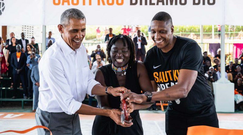 Masai's Giants of Africa camp tips off in Lagos
