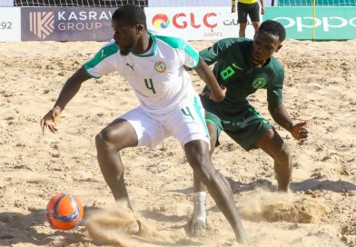 Senegal whip Supersand Eagles 6-1 to rule Africa