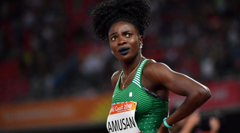 Amusan Denied chance to set record at AFN Olympic Trials