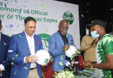 Dettol becomes Official Hygiene Partner of Super Eagles